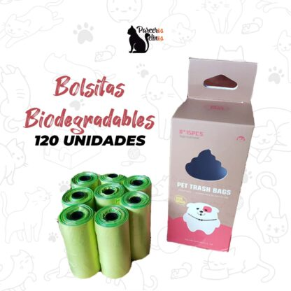 Bolsitas Biodegradables x 120 unidades