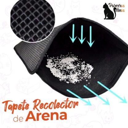 TAPETE RECOLECTOR DE ARENA parceros felinos