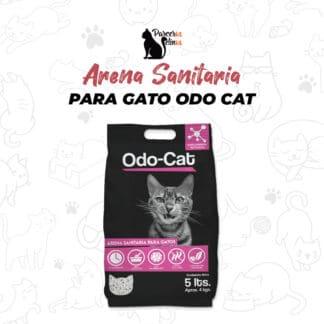 ARENA SANITARIA PARA GATOS ODO CAT 4kg