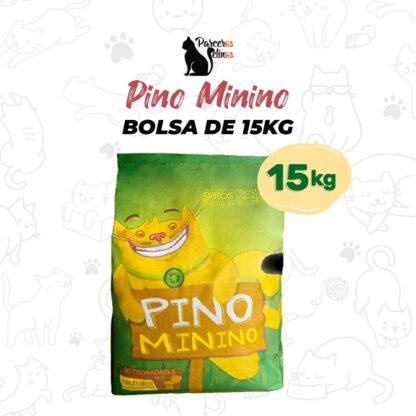 Pino Minino Bolsa 15Kg