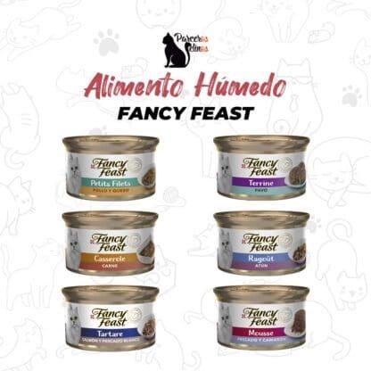 Alimento húmedo fancy feast