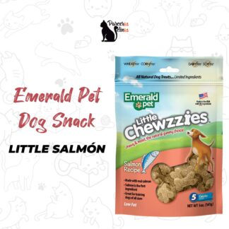 EMERALD PET DOG SNACK LITTLE CHEWZZIES - SALMON 5OZ