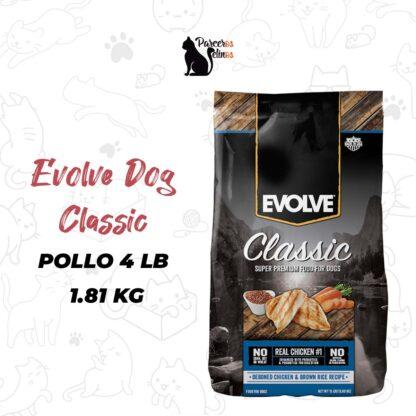 EVOLVE DOG CLASSIC CHICKEN - POLLO 4 LB - 1.81 KG