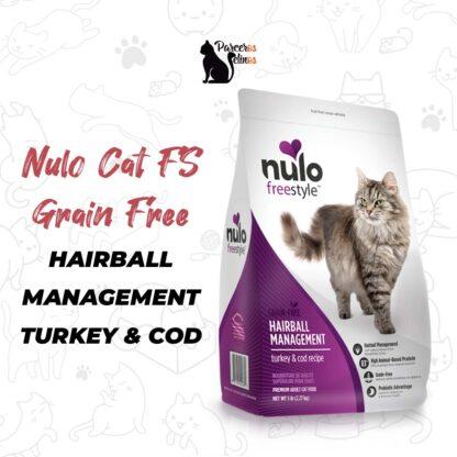 NULO CAT FS GRAIN FREE HAIRBALL MANAGEMENT TURKEY & COD