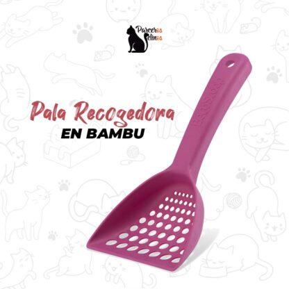 PALA RECOGEDORA EN BAMBU