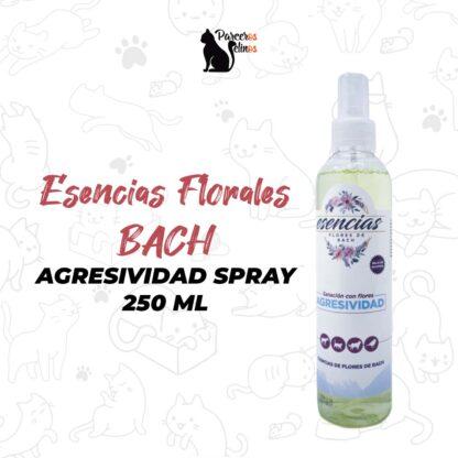 felnos-Esencias Florales BACH Agresividad spray 250 ml