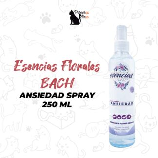 felnos-Esencias Florales BACH Ansiedad spray 250 ml