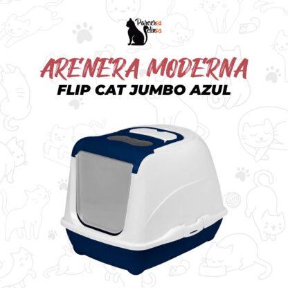 ARENERA MODERNA FLIP CAT JUMBO AZUL