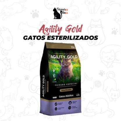 Agility Gold Gatos Esterilizados