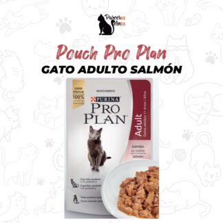 Pouch Pro Plan Gato Adulto Salmón