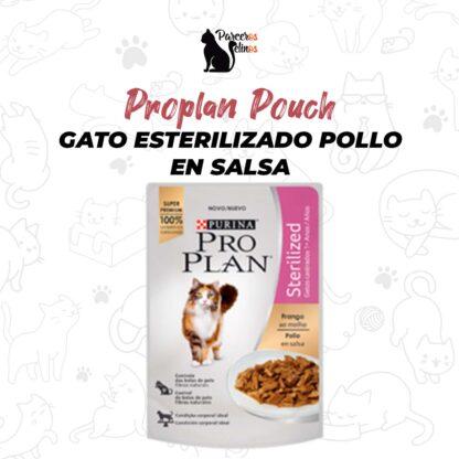 Proplan Pouch Gato esterilizado Pollo en Salsa