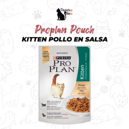 Proplan Pouch Kitten Pollo en Salsa